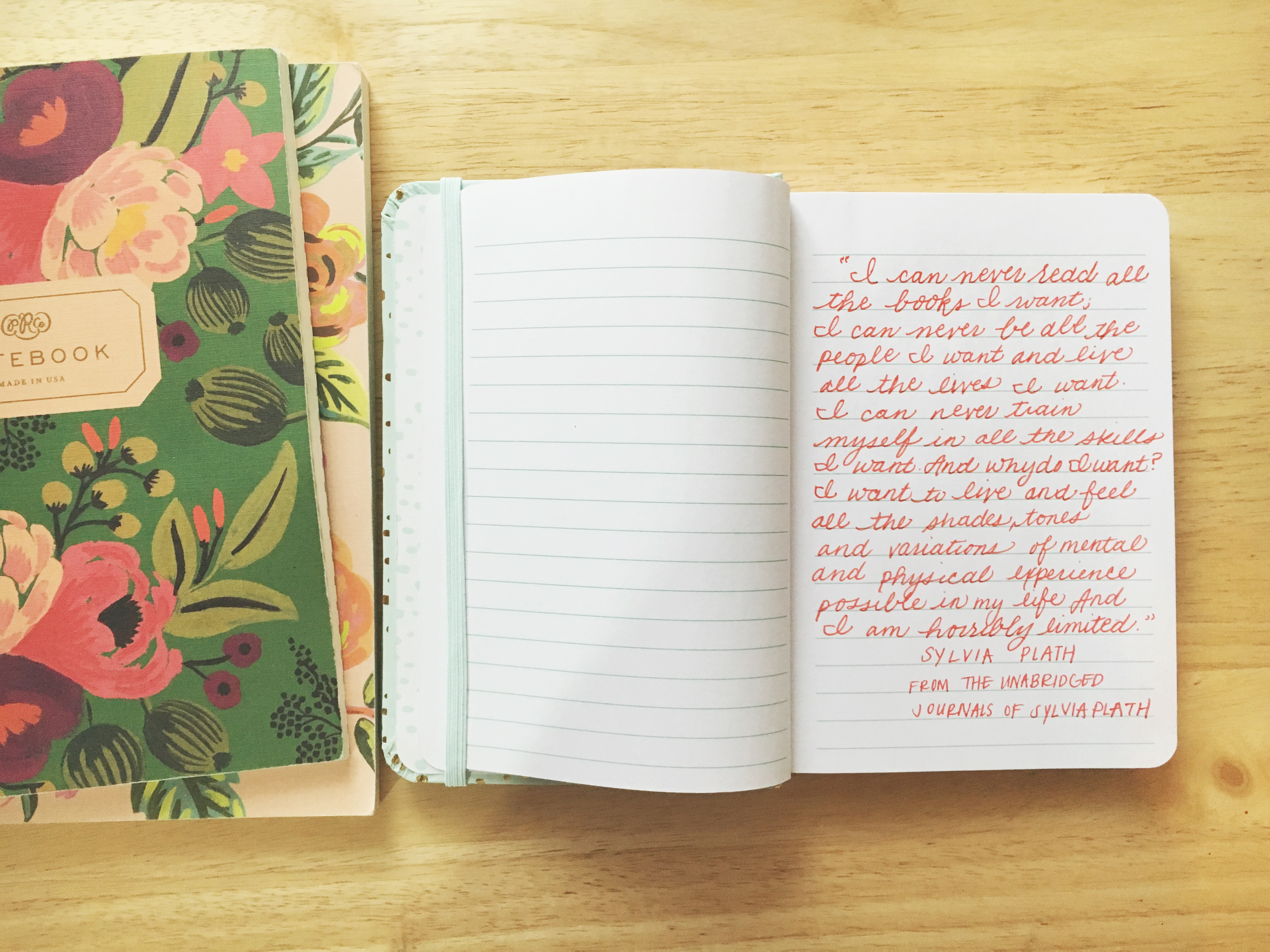 What to write in a notebook