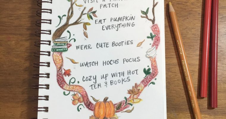 Fall 2017 Bucket List!